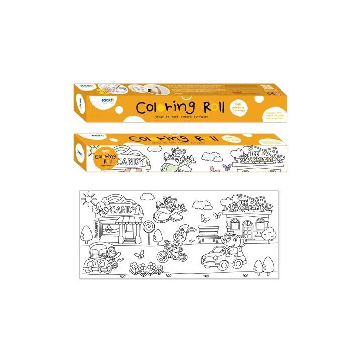 Rouleau Papier Colorier Vehicules Scolart
